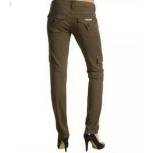 Hudson Military Cargo Skinny Ankle Jeans Sz 27